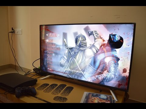 Micromax 40inch FullHD LED TV - Hands On Review.