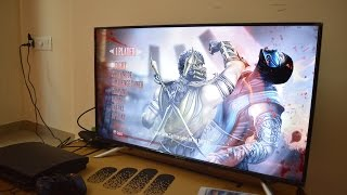 Micromax 40inch FullHD LED TV - Hands on review