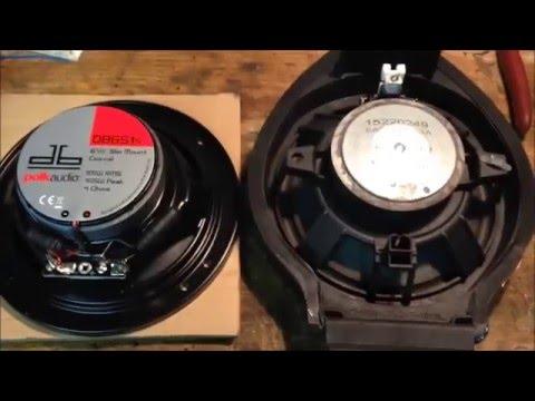 Pontiac G6 Front Speaker Installation