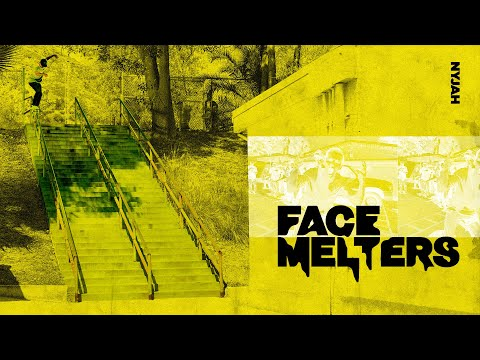 Nyjah Huston | 34 Stair Handrail | FACE MELTERS