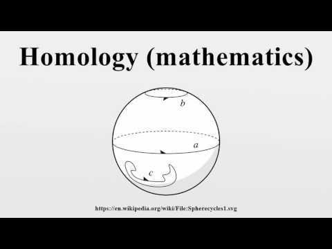 Homology (mathematics)