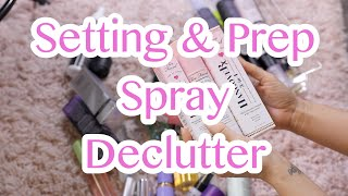 DECLUTTER | PREP + SETTING SPRAYS & OILS |
