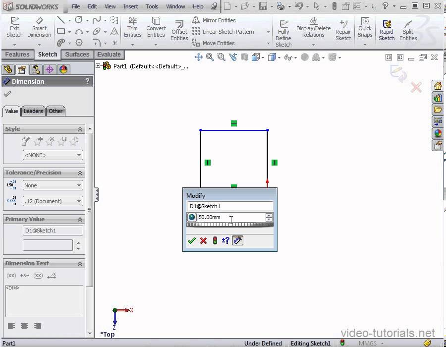 Solidworks equations not updating