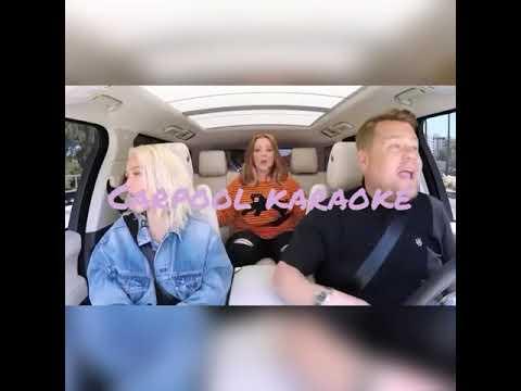 Christina Aguilera Carpool Karaoke Vocal Range (F3.F5.G6)2018
