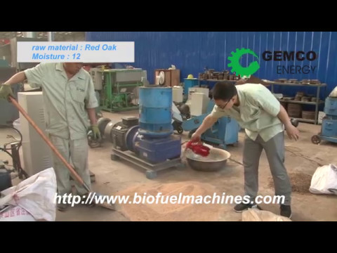 GEMCO Biomass Small Pellet Mill Make Your Own Fuel Pellets At Home!