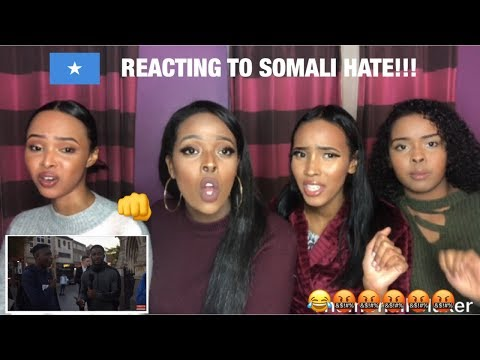 REACTING TO SOMALI HATE PART 2 🤬 (WE HAVE NO FILTER) thumbnail