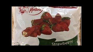 Frozen strawberries recalled over hepatitis A contamination