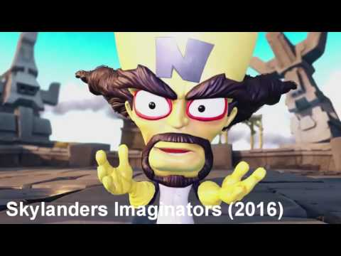 The times Dr. Neo Cortex is voiced by Lex Lang