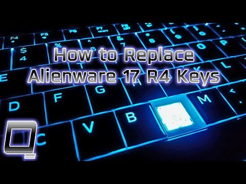 How To Replace Alienware 17 R4 Laptop Keys