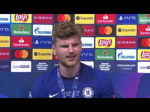 Timo Werner Loses Voice When Celebrating UCL Final Win