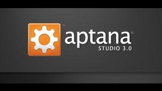 Descargar e Instalar Aptana Studio 2014,