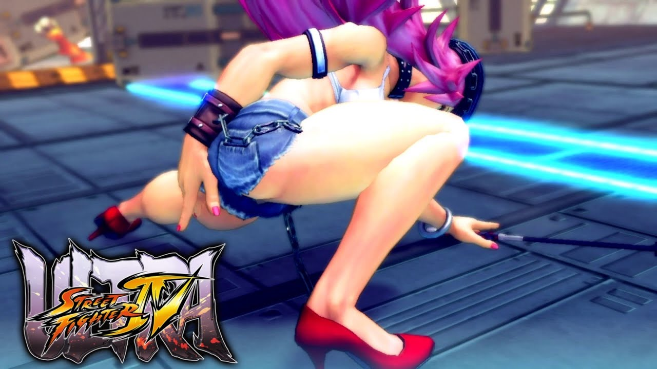 street fighter poison sexy