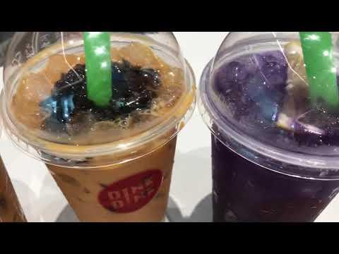 Dink Dink | Blue pea drink | Thai Food | Royal Square | Novena | Singapore