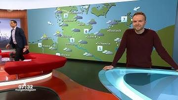 TV Panne ZDF MoMA Wetter mit Mitri Sirin, Dunja Hayali und Benjamin Stöwe