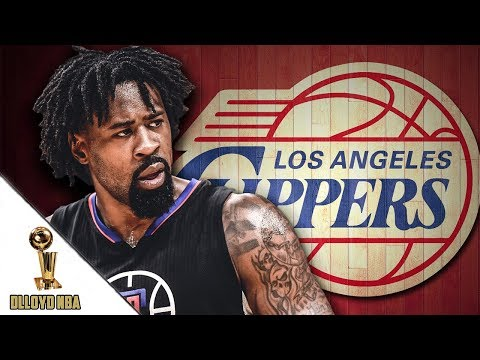 """DeAndre Jordan And The Los Angeles Clippers Have Had """"Zero Discussions"""" About A Contract Extension!!"""