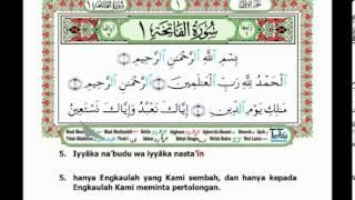 Al Fatihah - Belajar bacaan berlagu