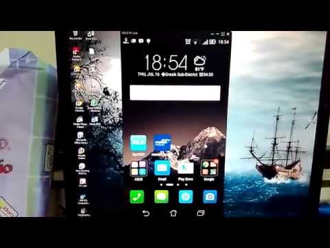 Asus Padfone S Connect With PC
