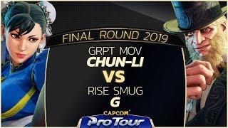 Download Video GRPT MOV (Chun-Li) vs RISE Smug (G/Balrog) - Final Round 2019 - Top 16 - CPT 2019 MP3 3GP MP4
