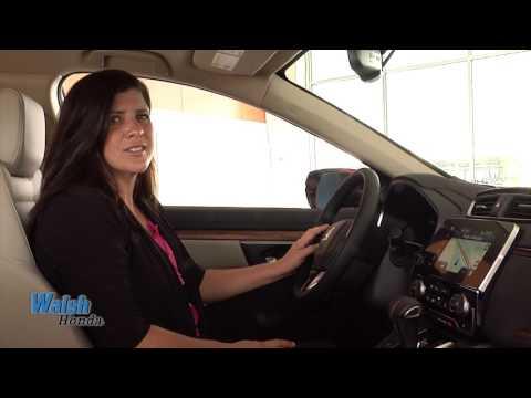 Walsh Honda | 2017 Honda CR-V Voice Commands and Navigaiton