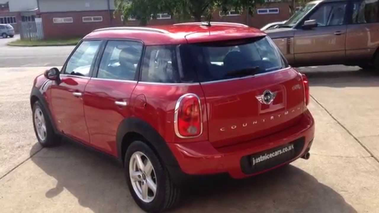 2013 63 Mini Countryman 16 Cooper D All4 5dr For Sale Youtube