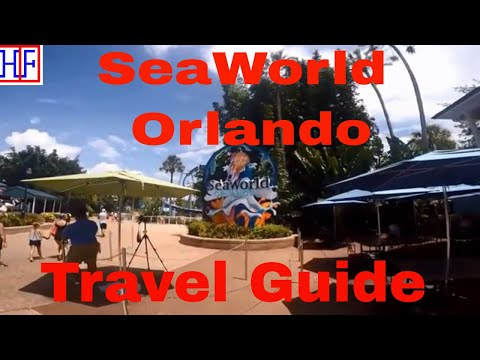 Orlando | SeaWorld - Amusement Park | Travel Guide | Episode# 11