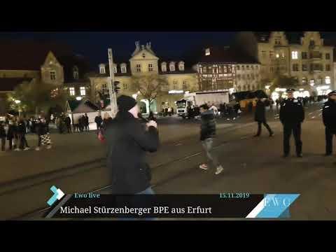 Erfurt Thüringens Ahmadiyya Sprecher Malik beleidigt Stürzenberger als Nazi