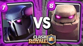 RAP BATTLE EPICA: PEKKA vs GOLEM [CLASH ROYALE]