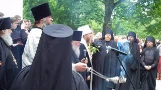 Митрополит Тихон Шевкунов в Свято Успенском Святогорском монастыре