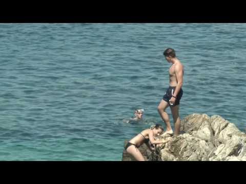 Kamen mali beach, Cavtat, Dubrovnik riviera, Croatia