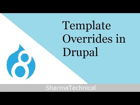 Template Overrides in Drupal - YouTube