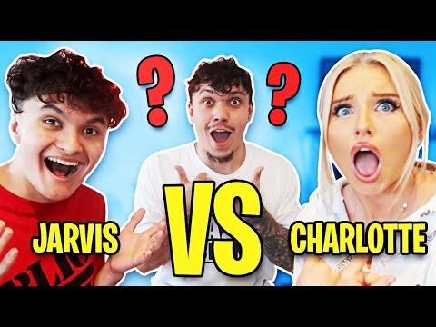 WHO IS SMARTER? FaZe Jarvis VS Charlotte Parkes - CHALLENGE