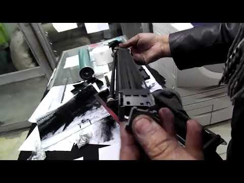 HOW TO CLEAN XEROX 5755  MACHINE XEROX WORK CENTER COMPLETE DRUM CLEANING