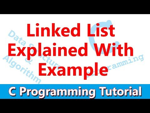 #37 Linked List in C: Insert, Find & Delete a Node, Printing elements