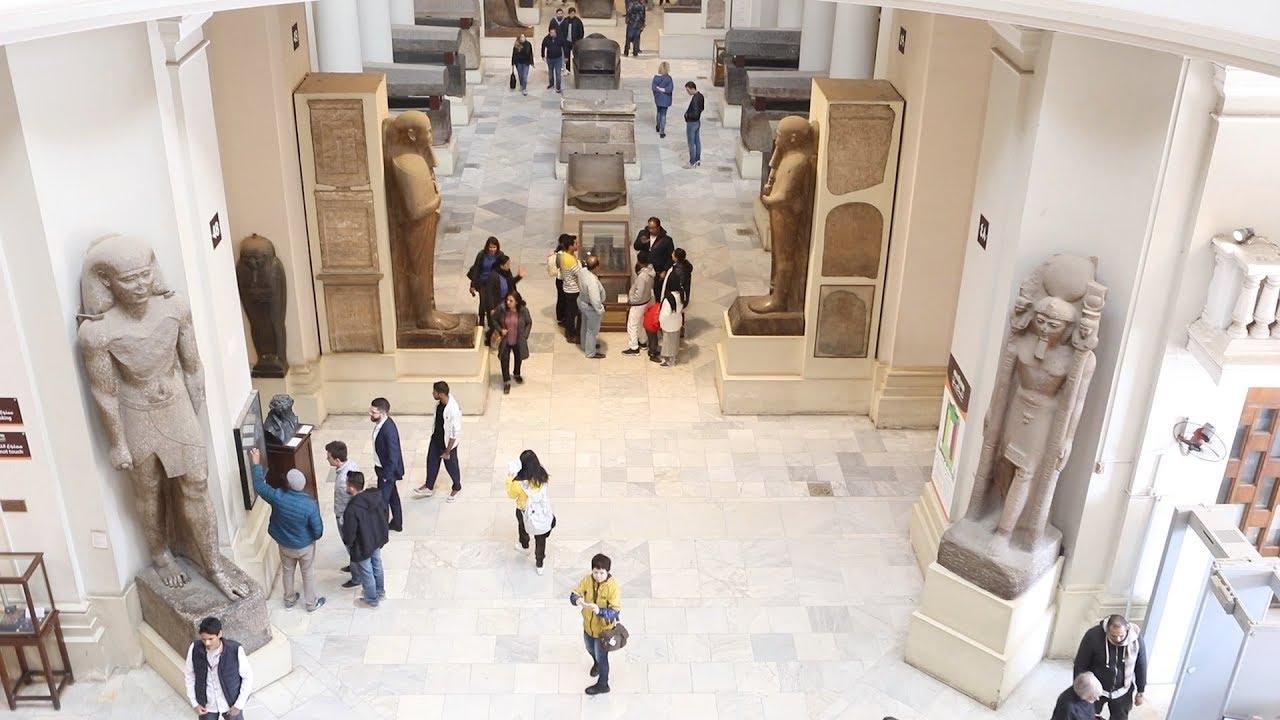 الوطن المصرية:رحلة ترميم المتحف المصري منذ عام 2014: باقي على الحلم خطوة
