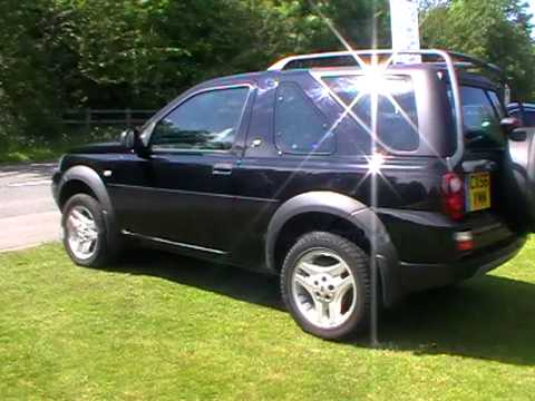 land rover freelander freestyle td4 3 door manual youtube. Black Bedroom Furniture Sets. Home Design Ideas
