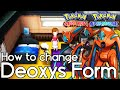How to Change Deoxys Form – Pokemon Omega Ruby and Alpha Sapphire – Pokemon ORAS How To