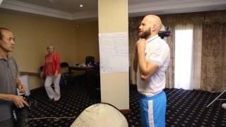 Сборная Казахстана по боксу перед  Олимпиадой 2016 _Backstage