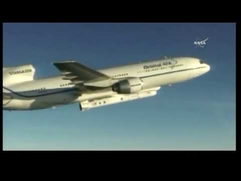 LIVE: NASA TV - Coverage Launch of Pegasus Rocket Carrying Nasa's CYGNSS small satellites into space