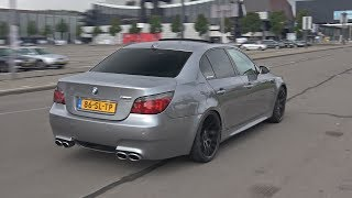BMW M5 V10 with Eisenmann Race Exhaust! Brutal Accelerations!