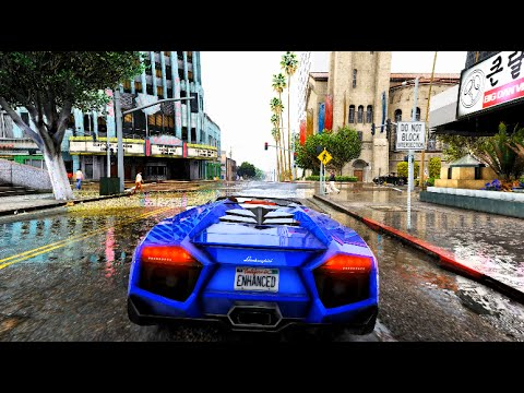 GTA V LUICENHANCER Maximum Graphics 4K RAIN GTX 970 G1 ...
