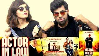 BEST INDIAN REACTION ON PAKISTANI MOVIE ACTOR IN LAW    INDIAN COUPLE REACTS ON ACTOR IN LAW MOVIE  