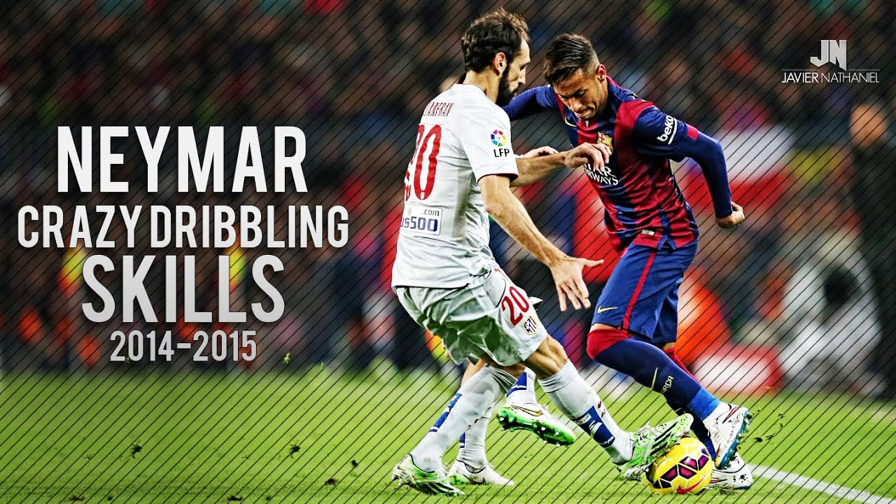 Neymar Jr Crazy Dribbling Skills 2014/2015 HD - YouTube