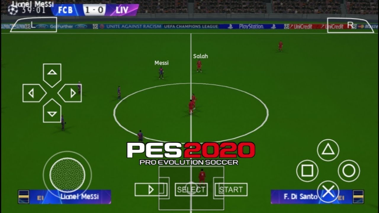 New Android Update 2020 PES 2020 PPSSPP Camera PS4 Android Offline 600MB Best Graphics New