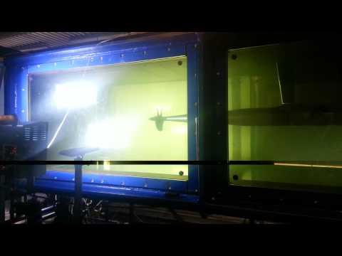 Cavitation Tunnel Test In Newcastle University