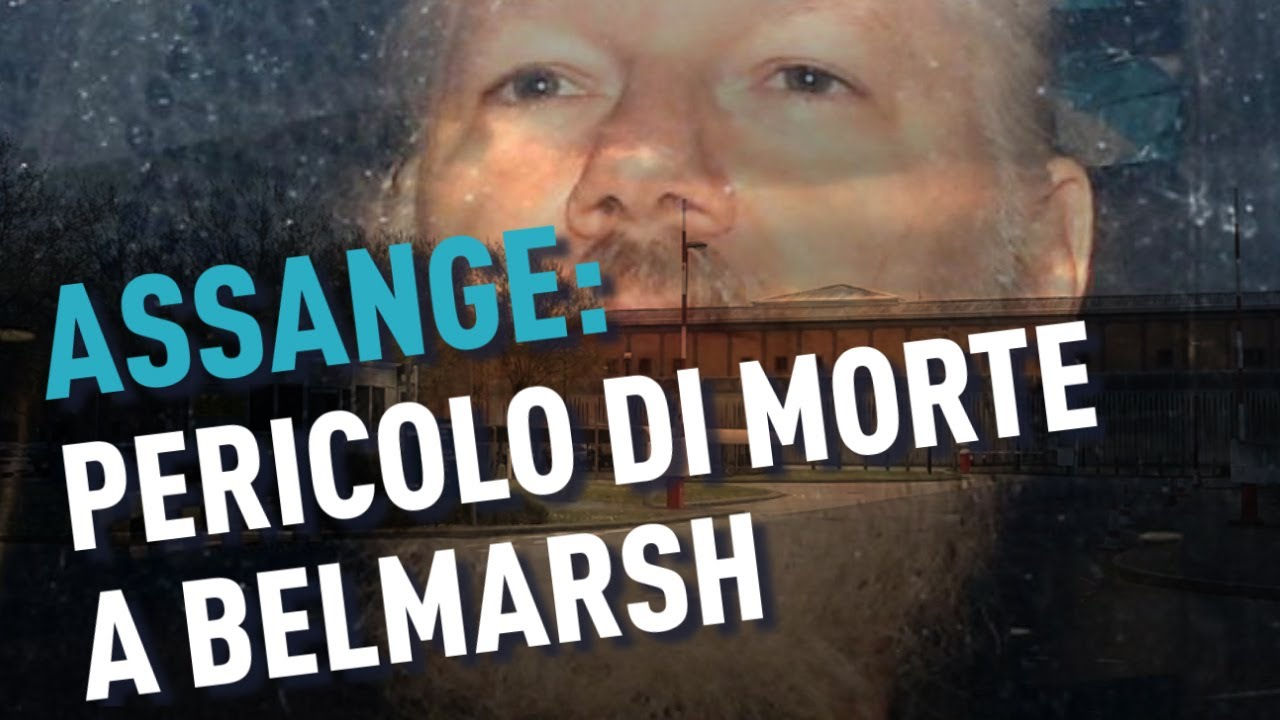 PTV News - 31.05.19 - Assange pericolo di morte a Belmarsh
