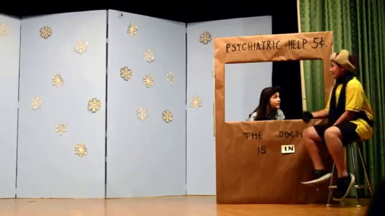 A Charlie Brown Christmas Play 2015 - YouTube