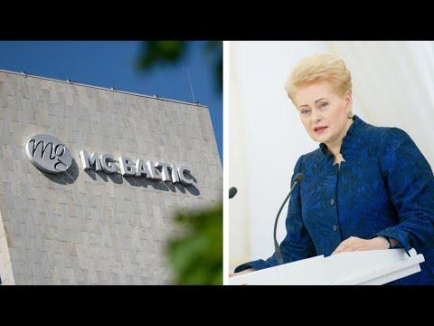 """Seimo nariai: prezidentė žinojo apie """"MG Baltic"""" reikalus"""