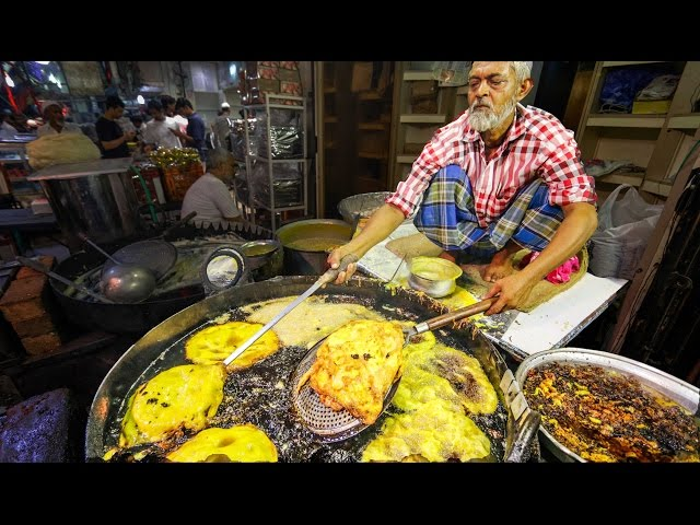 Indian Street Food Tour in Mumbai, India   Street Food in India BEST Curry