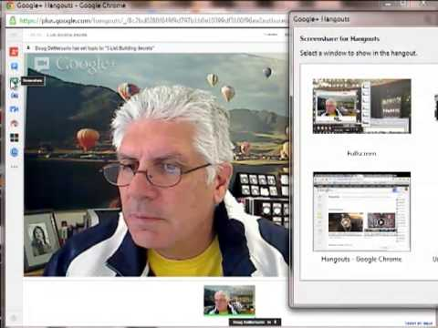 How To Make a Video - 3 Ways Using Google Hangouts