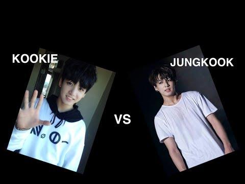 BTS KOOKIE VS JUNGKOOK ( JUNGKOOK CUTE & SEXY MOMENTS) 방탄소년단 정국